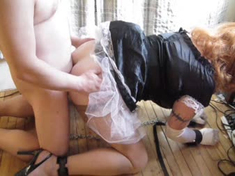 Maid daddy shorts bondage
